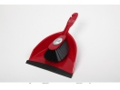 DUSTPAN SET RED.