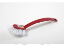 WASH-UP BRUSH LONG RED