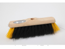 "11"" B/W SWEEPING BRUSH."