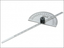 Faithfull Depth Gauge with Protractor 150mm (6in)