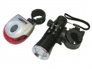 Lighthouse LED Front & Rear Cycle Light 2pc Set