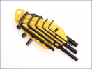 Stanley Hex Key Set 8 Piece Imperial (1/16 - 1/4in)