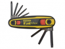 Stanley FatMax Locking Hex Key Set 8 pce Imperial (3/32-1/4in)