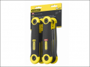Stanley Folding Hex Key Set 17 Piece Metric Imperial (1.5-8mm 5/64-1/4in)