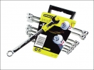 Stanley 8 Piece Accelerator Wrench Set - Metric