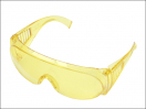 Vitrex 30 1270 Hi Visibility Safety Shades - Yellow