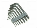 Vitrex Hex Key Set 8 Piece Set Imperial (1/16-1/4in)